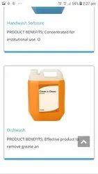 Lemon Dishwashing Liquid, 1:1, Packaging Size: 5lters Can