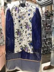Party Wear Printed Mens Indo Western Ethnic Wedding Sherwani