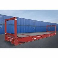 40ft Second Hand Flat Rack Container