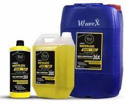 Yellow Wavex Waterless Wash and Wax Car Shampoo 20X