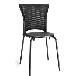 Perforated Fix Type Chair ( With Handle)