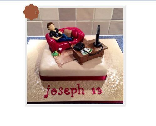 Crazy Video Game Cake