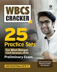 English Wbcs 25 Practice Sets Preliminary Exam 2020, Arihant Publication