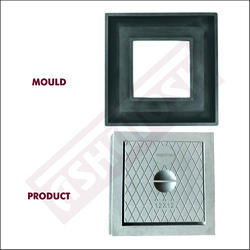 Square Manhole Cover Moulds (252 X 252 X 36)