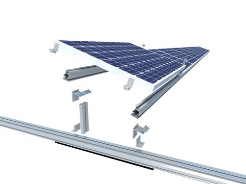solar frame profile at Rs 170 /kg | Aluminium Profiles | ID: 20258389712