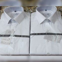100% Cotton White Shirts