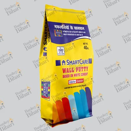 Wall Putty Packaging Bags - BOPP Laminated Wall Putty Bags