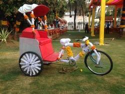 Tricycle For Prewedding Function