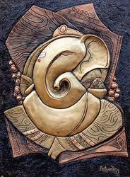 Ganesha FIBER WALL MURAL.