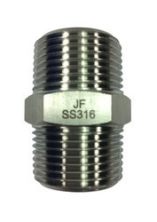 Stainless Steel 316TI Nipples, Size: 1/2 and 3 Inch