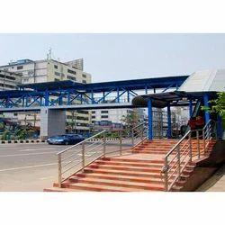 Foot Over Bridge Fabrication Service, Pan India