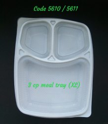 3 CP Meal Tray