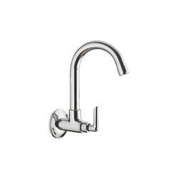 Sink Cock Swinging Spout With Wall Flange (Wall Mounted)
