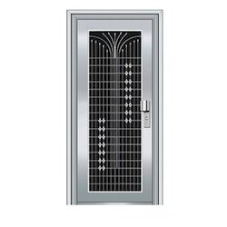 Stainless Steel Steel Safety Entry Door