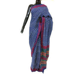 Casual Wear Printed Cotton Sambalpuri Saree