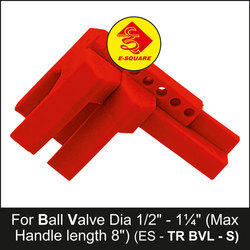 Ball Valve Lockout Top Rail - Small