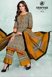 Textile Mall Presents Deeptex Chief Guest Vol-14 Printed Cotton Dress Material Catalog Collection