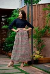 Cotton Printed Women's Kurti