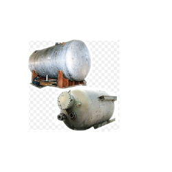 Mild Steel Cylindrical Boiler Tank Fabrication Service