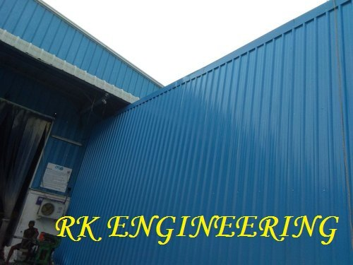 Galvanized Steel Roof Structure
