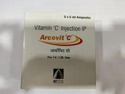 Arcovit C Vitamin C injection I.P 5 ML