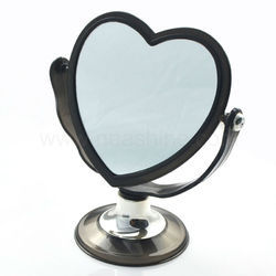 Heart Shape Golden Mirror