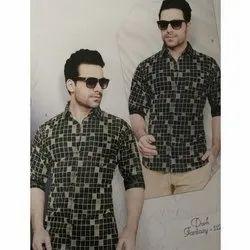 ARG Mens Casual Wear Designer Printed Shirt