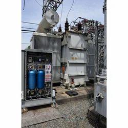 100MVA Power Transformer Rearing & Maintenance, in On Site