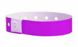 L Shape Plastic Wristband