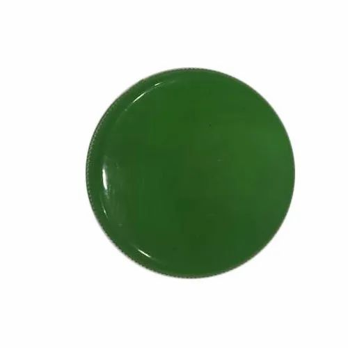 Seal Caps Plastic 44 mm Green PP Cap, Round