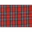 "45""-52"" Red Check Shirting Fabric, For Shirts, Gsm: 100-150"