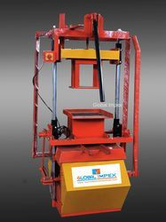 Manual Operated Block Making Machine