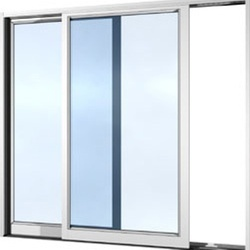 Aluminium Openable Sliding Window