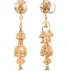 TOP 009 Gold Earring
