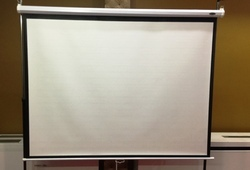 Imported Self Lock Projector Screen 4x6