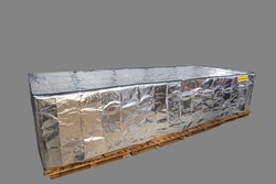 Reflective ULD and PMC Insulated Pallet Covers