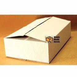Plain White Corrugated Boxes