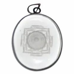Crystal Shree Yantra Pendant