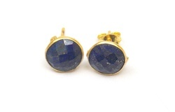 Lapis Jewelry Earrings Set