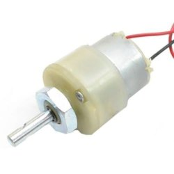 6 RPM 12v DC Center Shaft Gear Motor