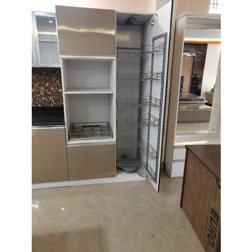 Wooden Acrylic Modular Kitchen Pantry Unit Rs 40000 Unit Dream Home Interior Id 20373684130