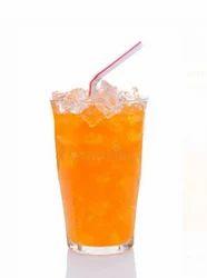 Orange Soda On Ice