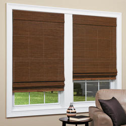 Brown Bamboo Blinds