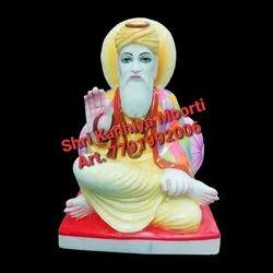 White marble guru nanak ji statue