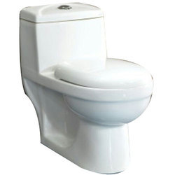 Open Front Floor Mounted One Piece Water Closet, For Bathroom Fitting