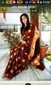 Shibhori Printed Murshidabad Silk Saree