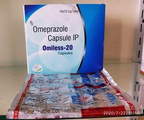 Omeprazole Capsule IP Omiless-20 Copsules