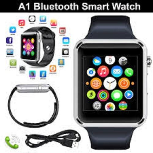 Bluetooth Android Smart Watch A1 Gold Silver Black At Rs 355