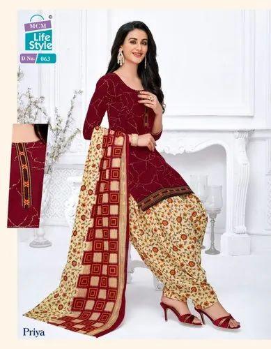 MCM Priya Vol Stitched Patiyala Suits