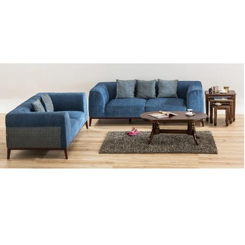 Durian Park 2 Seater Fabric Sofa With Led Light Warranty